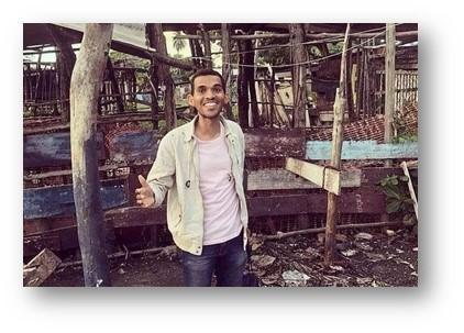 Carlos Jorge, idealizador da ONG Mandaver
