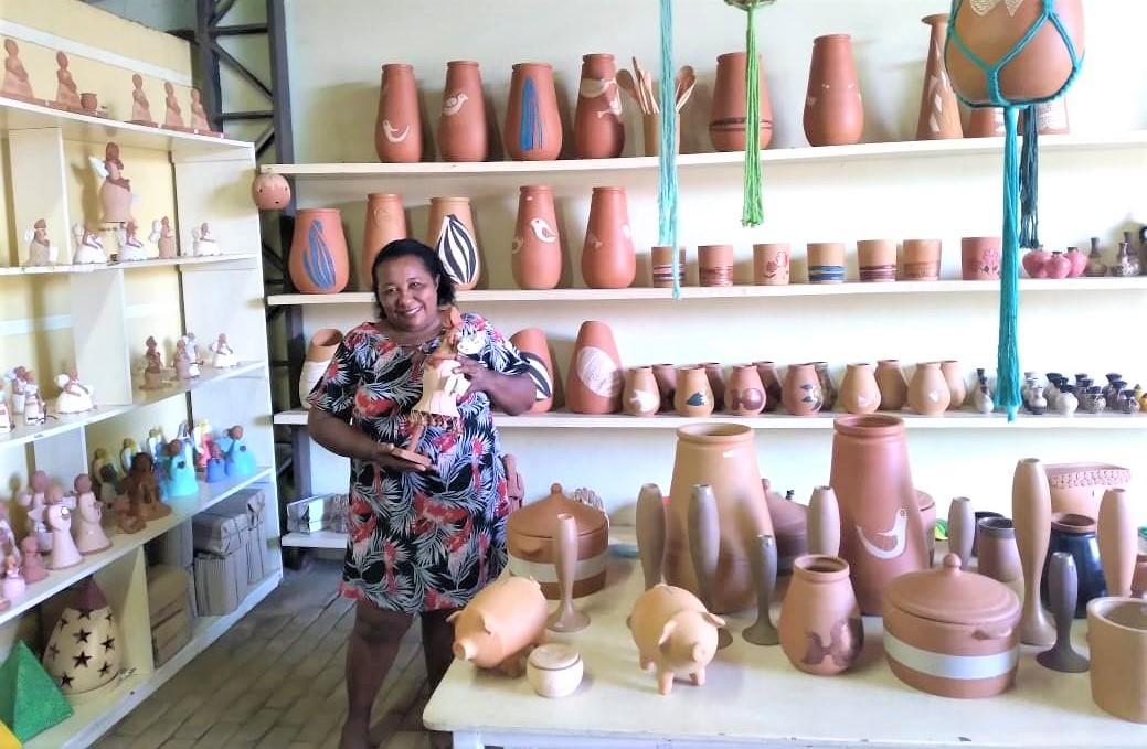 Raimunda Teixeira: a forte liderança no artesanato do bairro Poti Velho em Teresina