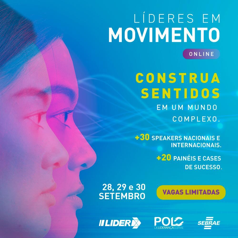 Está chegando o maior evento de liderança do Brasil!