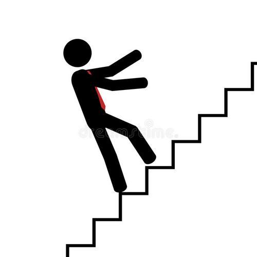 Bêbado, quando erra o primeiro degrau, erra a escada toda